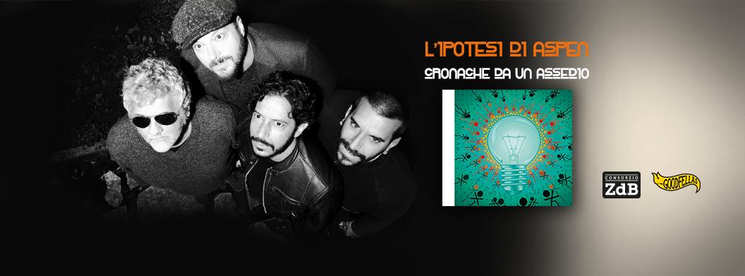 """L'ipotesi di Aspen """"Cronache da un assedio"""": il nuovo album."""