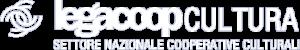 Logo Legacoop cultura, settore nazionale cooperative culturali