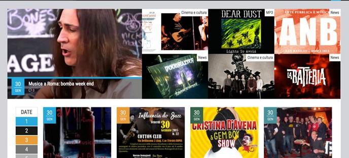 Home page Roma Suona